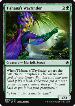 4 x SATYR WAYFINDER NM mtg Born of the Gods Green Creature Satyr Com