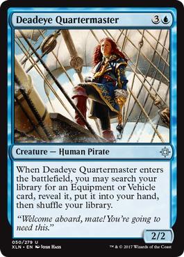 Deadeye Quartermaster - Foil