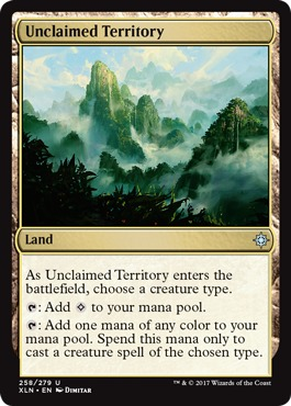 Unclaimed Territory - Foil