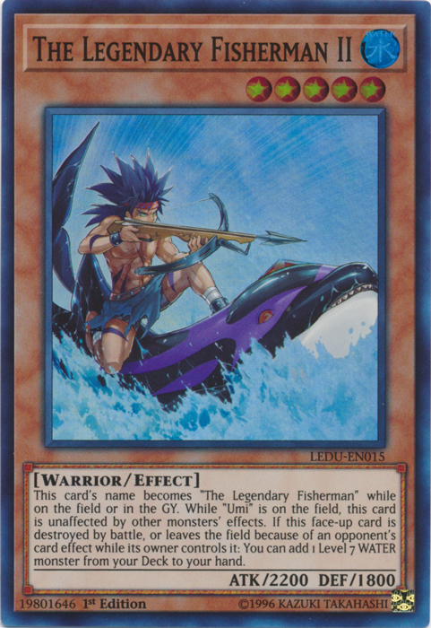 The Legendary Fisherman II - LEDU-EN015 - Super Rare - 1st Edition