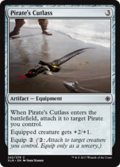 Pirate's Cutlass - Foil