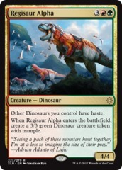 Regisaur Alpha - Foil