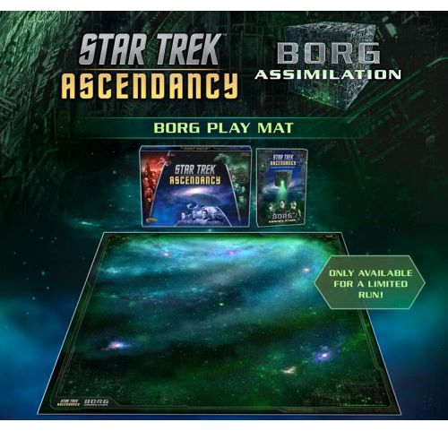 Star Trek: Ascendancy - Borg Playmat