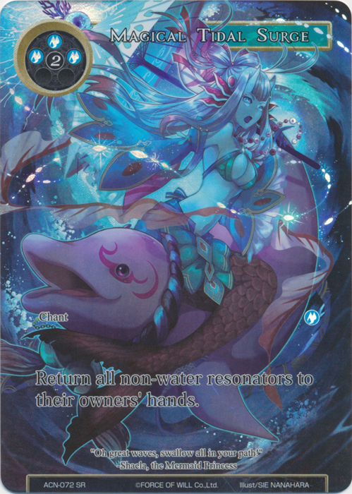 Magical Tidal Surge (Full Art) - ACN-072 - SR