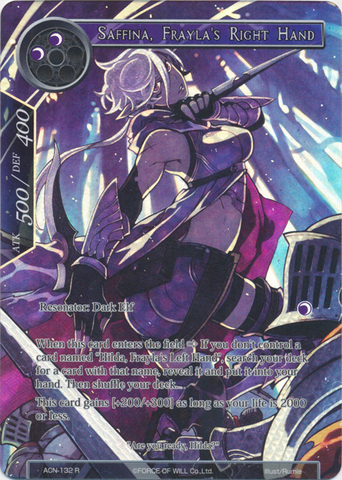 Saffina, Frayla's Right Hand (Full Art) - ACN-132 - R