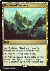 Unclaimed Territory - League Promo