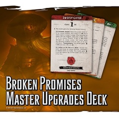 Malifaux: 2nd Edition Broken Promises: Master Upgrade Deck (WYR20039)