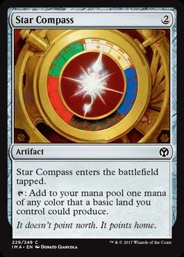 Star Compass x4 NM//Mint MTG Planeshift