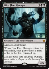 Dire Fleet Ravager - Foil