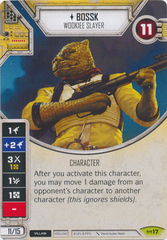 Bossk - Wookiee Slayer (Sold with matching die)
