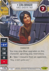 Ezra Bridger - Force-sensitive Thief (Sold with Matching Die)