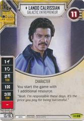 Lando Calrissian - Galactic Entrepreneur