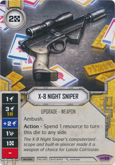 X-8 Night Sniper (Sold with Matching Die)