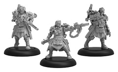 Cygnar Trencher Combat Engineers Blister