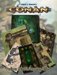 Conan: Perilous Ruils & Forgotten Cities Tile Set