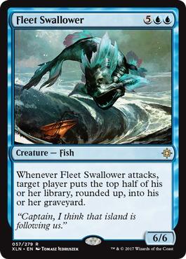 Fleet Swallower - Foil