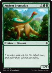Ancient Brontodon - Foil on Channel Fireball
