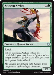 Atzocan Archer - Foil on Channel Fireball