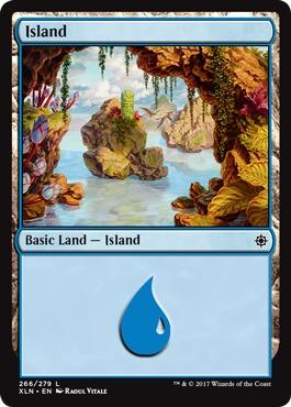 Island (266) - Foil