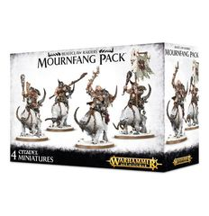 Beastclaw Raiders Mournfang Pack ( 95-14-SC )