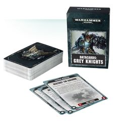 Datacards: Grey Knights (8th)
