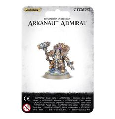 Kharadron Overlords Arkanaut Admiral ( w84-31 )