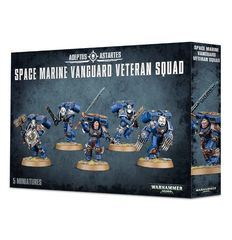 4818 Space Marine Vanguard Veteran Squad