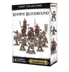 Start Collecting! Khorne Bloodbound ( 70-82 )