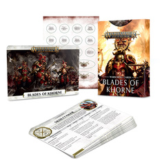 Warscroll Cards: Blades Of Khorne (Eng)