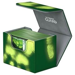 Ultimate Guard - Deck Case 80+ Sidewinder Chromiaskin - Green