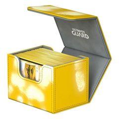 Ultimate Guard - Deck Case 80+ Sidewinder Chromiaskin - Yellow