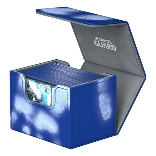 Ultimate Guard - Deck Case 100+ Sidewinder Chromiaskin - Blue