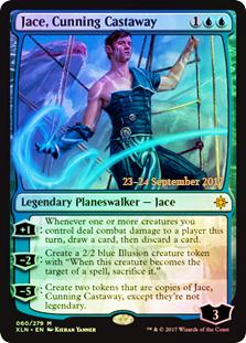 Jace, Cunning Castaway (Ixalan Prerelease Foil)
