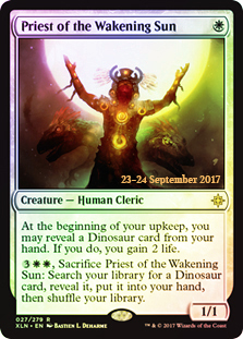 Priest of the Wakening Sun - Foil - Prerelease Promo