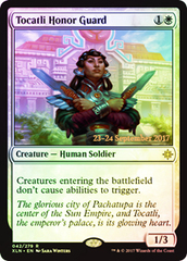 Tocatli Honor Guard - Foil - Prerelease Promo