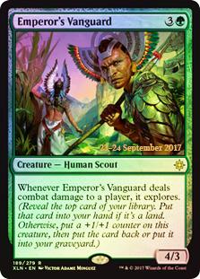 Emperors Vanguard - Foil - Prerelease Promo