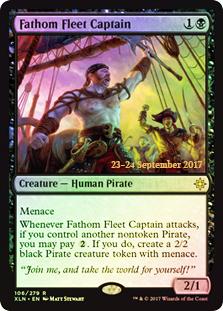 Fathom Fleet Captain - Foil - Prerelease Promo