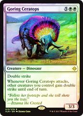 Goring Ceratops - Foil - Prerelease Promo