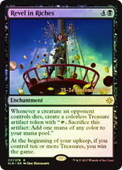 Revel in Riches - Foil - Prerelease Promo