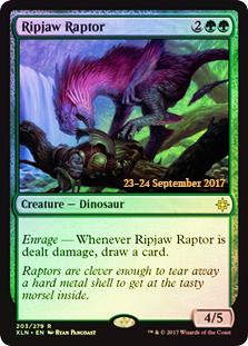 Ripjaw Raptor (Ixalan Prerelease Foil)