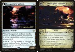 Conqueror's Galleon // Conqueror's Foothold - Foil - Prerelease Promo