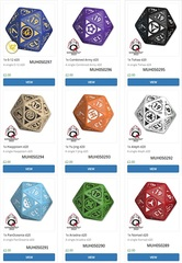 Infinity Rpg Dice Set - Combined Army Box