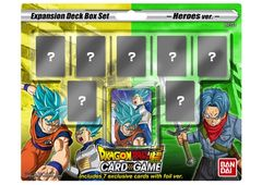 Dragon Ball Super Tcg - Expansion Deck Box Set: Mighty Heroes Be01