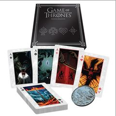Playing Cards - Game Of Thrones Premium Dealer Set