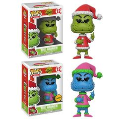 Pop! Books 12: Dr. Seuss - How The Grinch Stole Christmas - Santa Grinch (Chase)