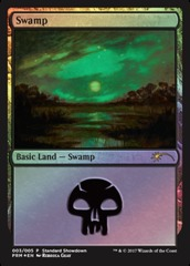 Swamp - Foil - 2017 Standard Showdown (Guay)