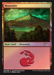 Mountain - Foil - Standard Showdown