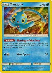 Manaphy - 25/73 - Holo Rare on Channel Fireball