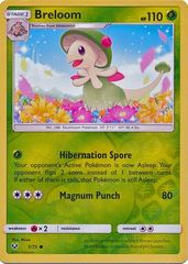 Breloom - 5/73 - Common - Reverse Holo on Channel Fireball