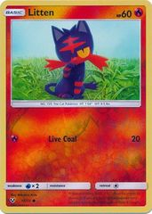 Litten - 15/73 - Common - Reverse Holo